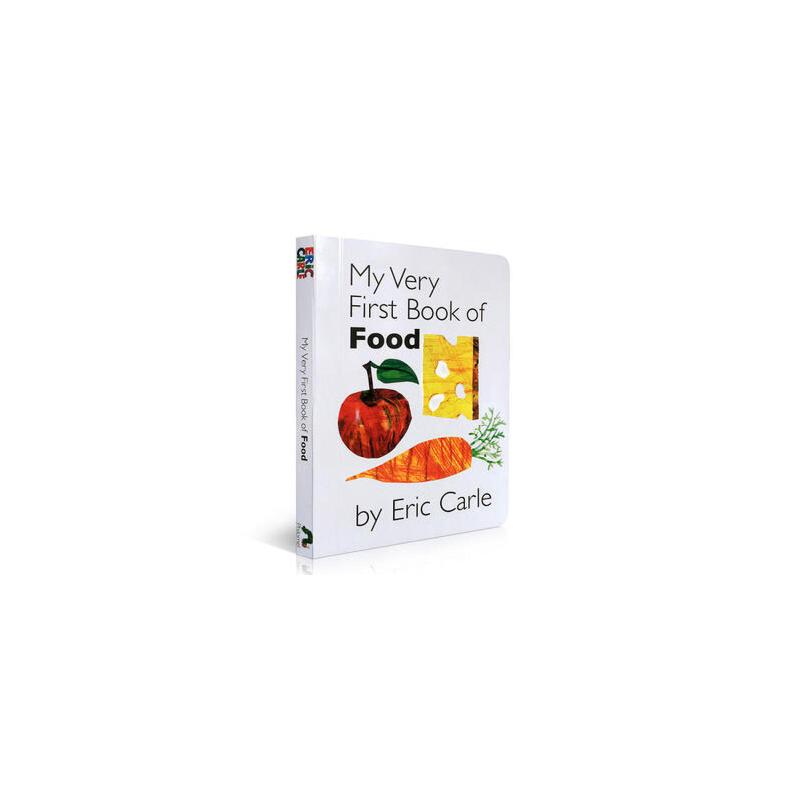 My Very First Book of Food 我的食品书 Eric carle 幼儿启蒙认知英文原版绘本 纸板书