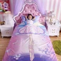 女童床上用品四件套公主房1.2m床品纯棉女孩1.8儿童床单三件套1.5