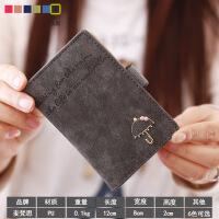韩版雨伞小卡包女式多卡位包可爱*夹大容量卡片包迷你潮薄款