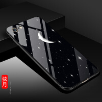 苹果6手机壳iphone6splus软套女款潮6s全包6p黑色i6玻璃后盖男六