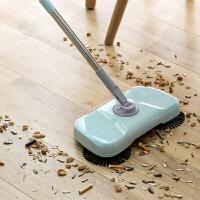 手推式硬毛扫地机带簸箕家用一体式扫地清洁笤帚拖把懒人帚把扫把