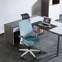 圣奥办公家具智者现代简约电脑椅家用舒适久坐护腰椅子靠背老板椅