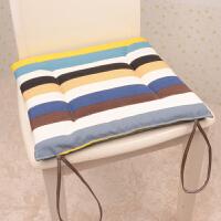 全棉帆布坐垫餐椅垫子正方形凳子椅垫办公室椅子坐垫沙发座垫学生