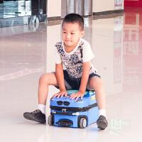 儿童拉杆箱18寸旅行箱行李箱学生箱登机箱汽车爸爸去哪儿同款