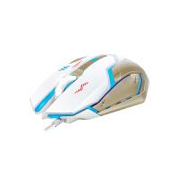 凯迪威 VF61 有线USB游戏鼠标 牧马人风格二代发光LOL/CF游戏鼠标