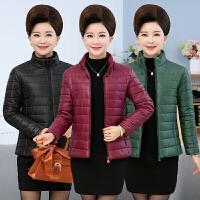 20180324181228125中老年妈妈装棉衣短款小棉袄时尚羽绒棉中年女装冬装外套40-50岁