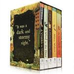 【顺丰包邮】英文原版 The Wrinkle in Time Quintet 梅格时空大冒险 全5册盒装 纽伯瑞儿童文