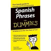 【预订】Spanish Phrases For Dummies 9780764572043