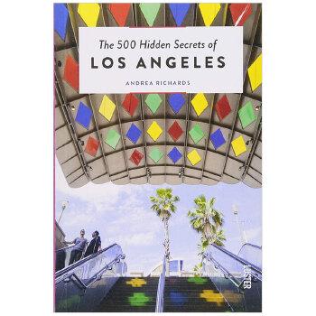 【500个隐藏秘密旅行指南】Los Angeles,洛杉矶 英文原版旅游攻略 善本图书 汇聚全球出版物,让阅读改变生活,给你无限知识