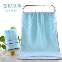 吸水洗脸小大纱布毛巾手巾面巾方巾干发擦手巾