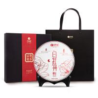 艺福堂茶叶白茶 正宗福鼎白牡丹白茶饼 白茶饼福韵运礼盒300g