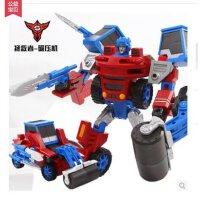 蒙巴迪 变形战神超变金刚 模型工程车大力神 儿童变形玩具机器人