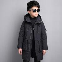 №【2019新款】冬天儿童穿的童装男童冬装棉衣中长款中大童加厚棉袄儿童羽绒男孩