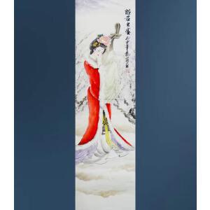 现代画家  杨丽   昭君出塞  /2-A7