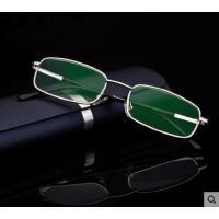 休闲眼镜大方时尚老人眼镜老花镜高档老花眼镜防辐射全框男女抗疲劳