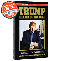 特朗普 交易的艺术 英文原版 Trump: The Art of the Deal 川普 Donald J. Trum