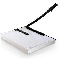 得力( deli)切纸机8011 A3手动钢制裁纸刀 锋利加厚刀片卡片照片切纸板