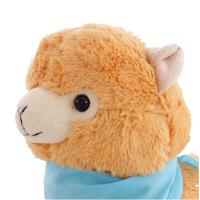 开心羊驼公仔 小绵羊毛绒玩具神兽创意生日礼物年会礼品