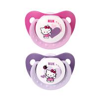【当当自营】NUK 安睡型Hello Kitty印花硅胶安抚奶嘴(6-18个月)