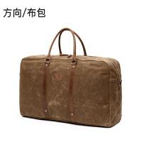 布包防水行李包手提旅行包百搭时尚斜跨帆布包多功能休闲背包户外商务旅行包
