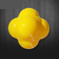 反应球专业篮球训练用品辅助器材工具网球乒乓球速度训练球敏捷球 黄色