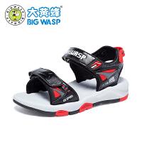 大黄蜂童鞋 男童凉鞋2018新款夏季儿童鞋子男学生韩版潮3-12岁