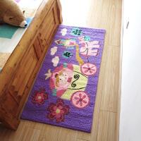 ???多彩手绣脚垫防滑垫 美丽卡通可爱儿童地毯地垫 卫浴卧室门垫 -床边毯