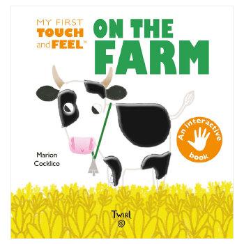 On the Farm 在农场 英文原版进口儿童绘本 亲子早教互动 0-3岁低幼英语启蒙图书 善本图书 汇聚全球出版物,让阅读改变生活,给你无限知识