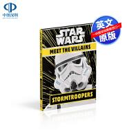 英文原版 星球大战 遭遇恶棍冲锋队 Star Wars Meet the Villains Stormtroopers