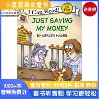 #英文原装进口童书Little Critter: Just Saving My Money小怪物:我要省钱