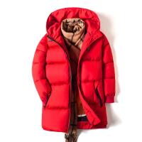 男童棉衣冬装2018新款韩版童装加厚棉袄外套中长款中大儿童潮