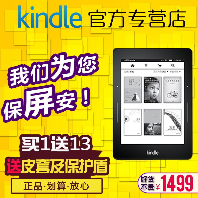 新品 亚马逊Kindle Voyage标准版 电纸书电子书阅读器 国行正品,300PPI超清屏,背光,paperwhite2升级版!拍下默认贴膜!!300PPI超清屏,带前置光源