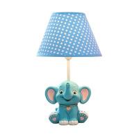 小象儿童台灯卧室床头灯卡通创意时尚男孩学生可爱温馨礼物可调光 调光开关