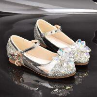 灰姑娘水晶鞋 女童皮鞋公主鞋单鞋小学生儿童鞋女孩韩版