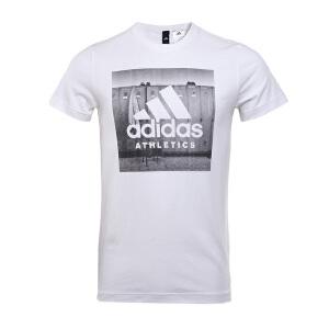 Adidas阿迪达斯 2017新款男子训练系列运动休闲短袖T恤 BK2793