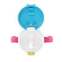 儿童吸管水杯宝宝学饮杯婴儿喝水杯透透杯320ml
