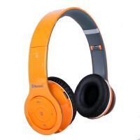 shockwave冲击波 SHB-906BH 包耳头戴式蓝牙耳机 HiFi立体声 可折叠+内置麦克风 甜蜜橙