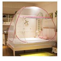 蒙古包蚊帐1.2米1.5m1.8m床双人家用加密免安装宿舍蚊帐