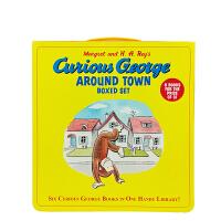 英文原版 Curious George Around Town Boxed Set