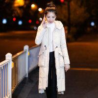 反季女中长款棉袄女修身显瘦保暖潮女装外套加长棉衣