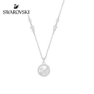 SWAROVSKI/施华洛世奇 PEARLY SWAN2017典雅密镶天鹅项链 5246645
