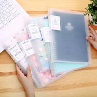 优凡小清新A5-B5活页本 创意学生日记活页夹可换替芯笔记本子文具