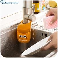 水槽挂袋塑料沥水篮挂架 厨房用品沥水架水龙头收纳置物架
