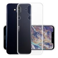 诺基亚x7手机壳 诺基亚X7手机套 诺基亚x7保护套壳 透明硅胶全包手机壳套TPU软壳