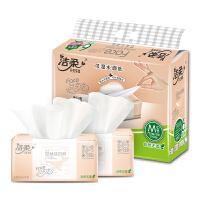 洁柔纸面巾(Face粉软抽)120抽3层(6包装)*2提