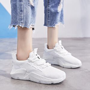 ZHR2018秋季新款韩版老爹鞋小白鞋ins超火单鞋平底女鞋子