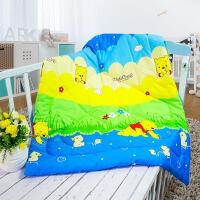 春秋纯棉被子儿童幼儿园午睡被空调被宝宝抱被新生婴儿包被小被子