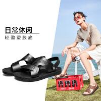 意尔康2019年夏季新品男凉拖两用男拖鞋沙滩凉鞋轻便时尚男鞋凉鞋男士凉鞋