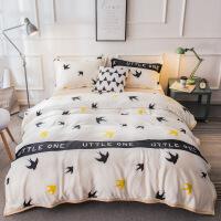 毯子毛毯春秋垫床上铺被子子毛绒床单人法莱其它