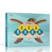 【全店300减100】英文原版 The Sea Book 海洋之书 DK儿童百科科普读物绘本 海洋动物生物知识认知教育书